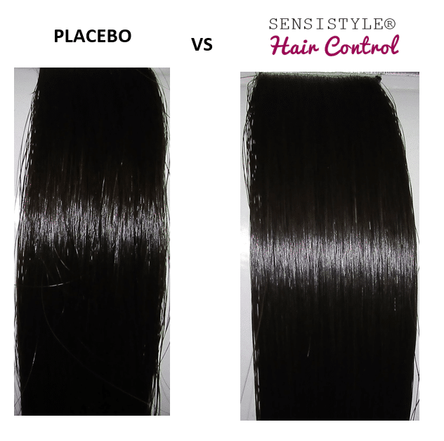 Placebo Vs Sensistyle Hair Control