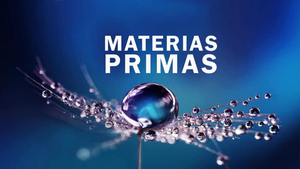 Proveedores de Materias Primas para cosmericos